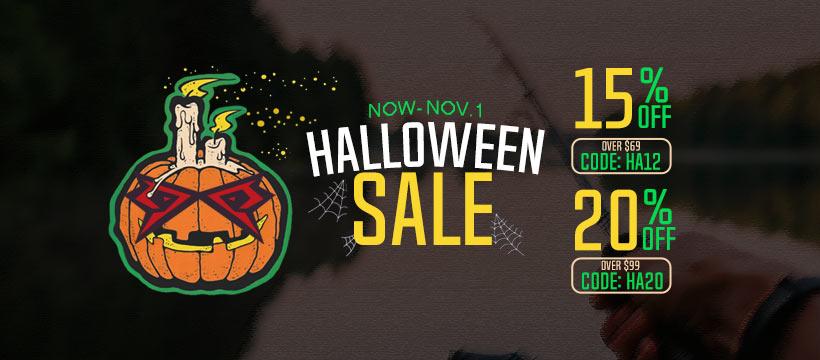 15% off on Piscifun Halloween Sale