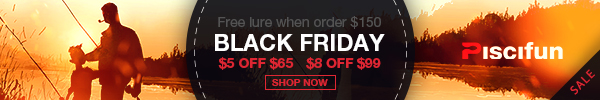 Black Friday Sale-Piscifun fishing tools & Accessories