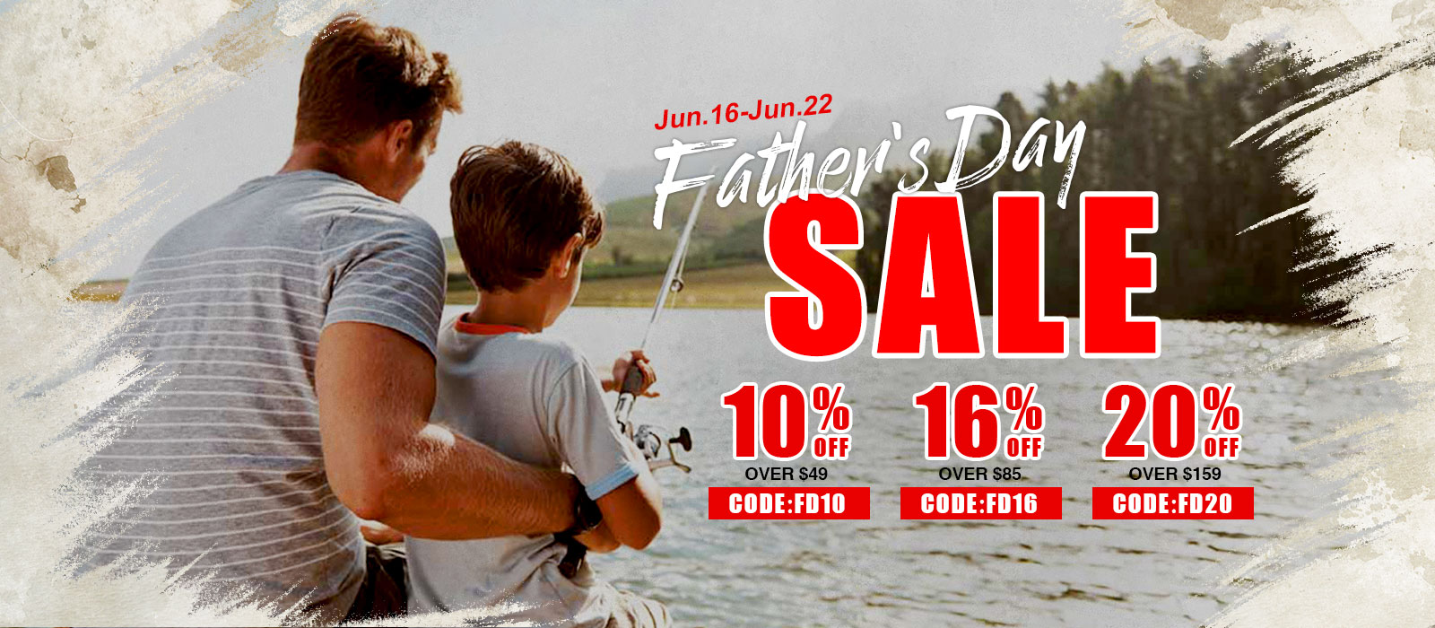 20% off over $159 on Piscifun Father's Day Deal
