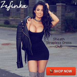 Sheath Strapless Dress Club