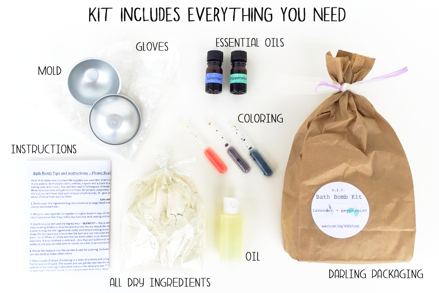 bath bomb kit