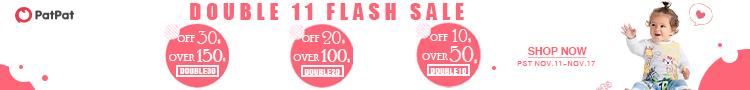 double10: $50+, get $10 off; double20: $100+, get $20 off; double30: $150+, get $30 off
