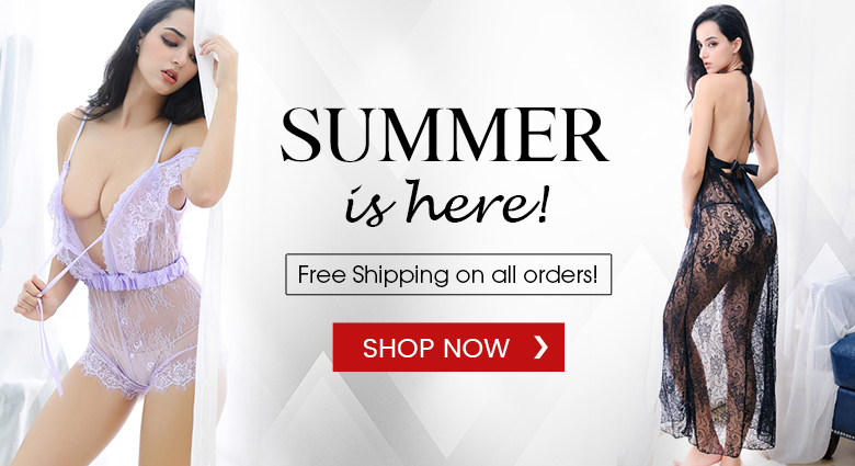 Free Shipping on all Lingerie