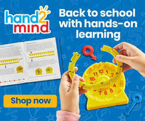 hand2mind back to school banners