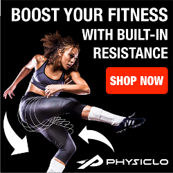 Physiclo Workout Gear With Built-In Resistance