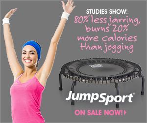 Studies Show: 80% less jarring, burns 20% more calories than jogging