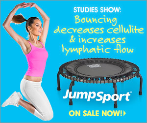 Studies Show: Bouncing decreases cellulite and increases lymphatic flow