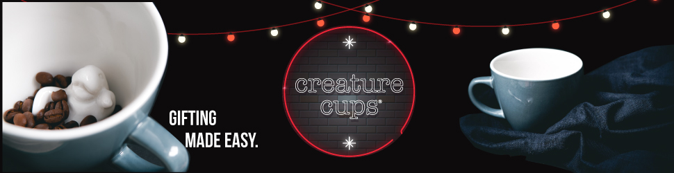 Creature Cups make great gifts this holiday season!
