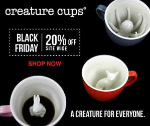 Creature Cups Black Friday Sale