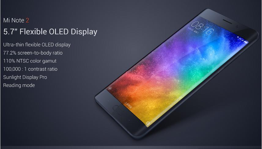Xiaomi Note 2 64GB deals   15%off