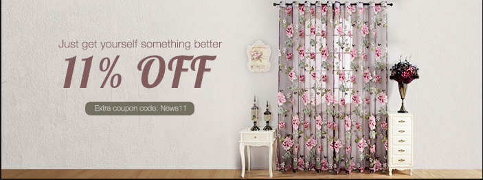 Home Textiles   get someting better   11%off