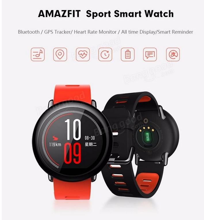 Xiaomi IP67 Waterproof Watch   8%OFF
