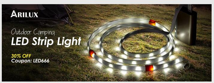 ARILUX®  Outdoor Camping LED Strip Light     30%OFF