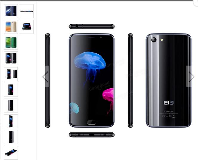 elephone s7 deals   4GB RAM 64GB ROM Helio X20 Deca Core  20% off