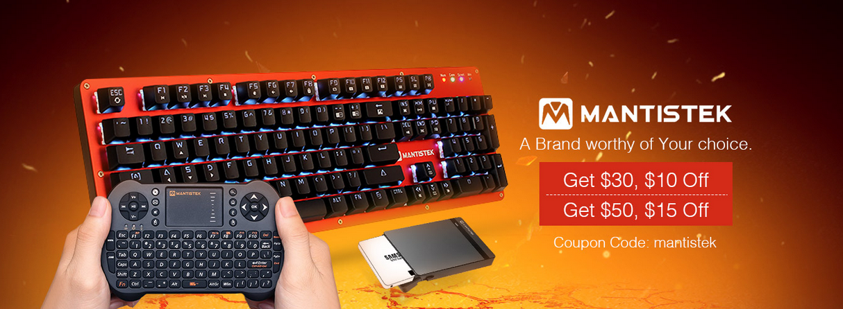 Mantistek  Keyboards&Networking&Accessories