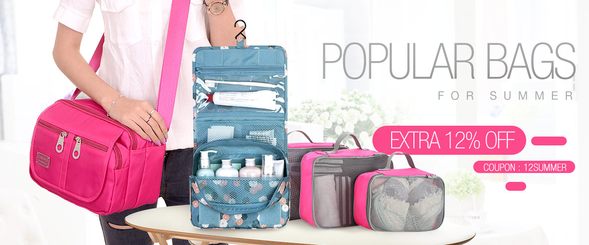 SUMMER BAGS     Extra 12% OFF