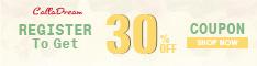 Calladream New Register Get 30% Off Coupon