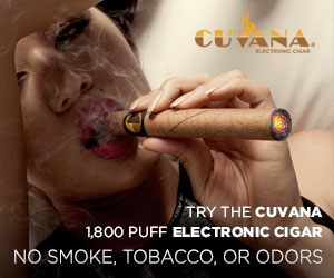 Try the Cuban flavored CUVANA E-CIGAR