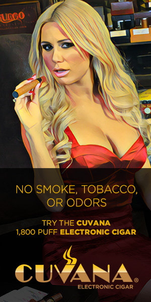 Try the CUVANA E-CIGAR at ElectronicCigar.com