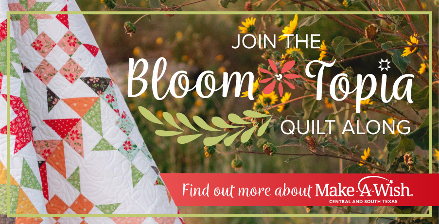 Bloom-Topia 2020 Charity Quilt