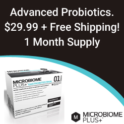 Buy Microbiome Plus Advanced Probiotic and Prebiotic Combo - On Salde Today!
