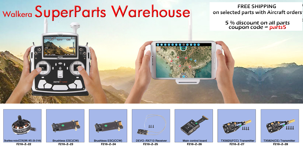 Walkera Parts Warehouse
