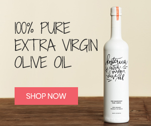 Shop organic extra virgin olive oil at Kosterina.com
