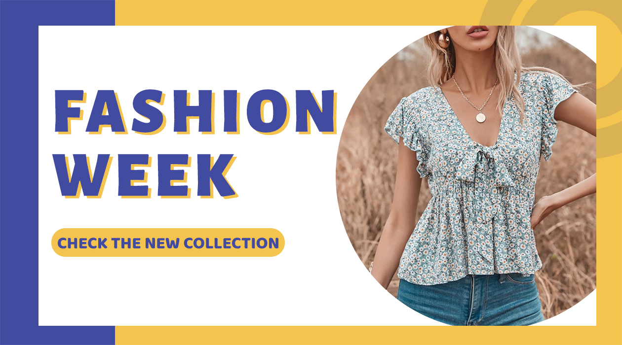 Couponbanner fashionweek - Discovery 2021 FASHION TREND