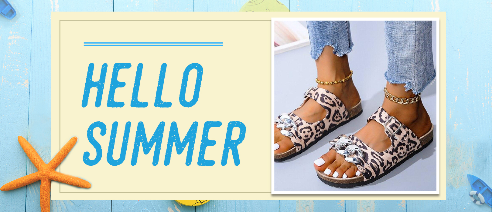 Couponbanner hellosummer - Say Hello To The Beach