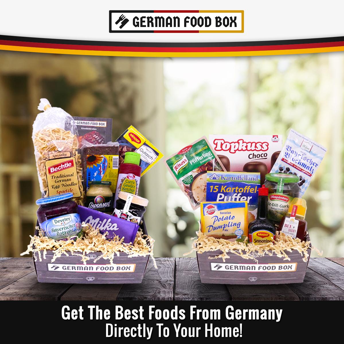German Food Box Subscription