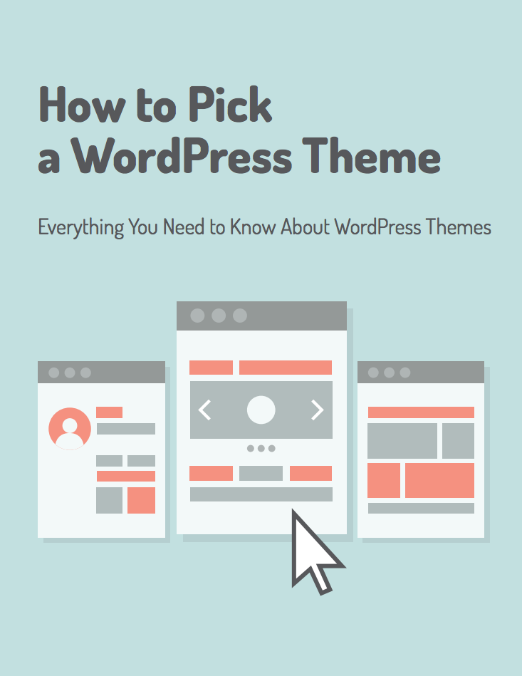 how to pick a wordpress theme banner