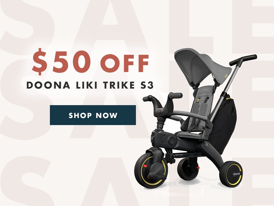 The Doona Liki Trike S3 is $50 off!