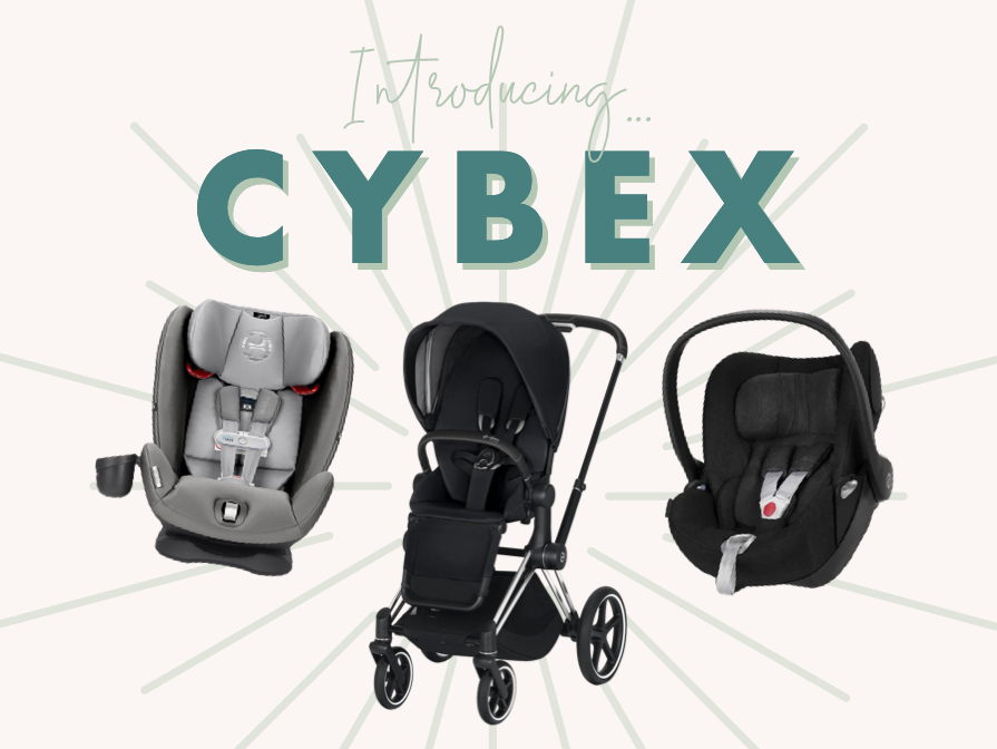 Introducing our newest brand: Cybex! Strollers, car seats, and so much more! Take a look!