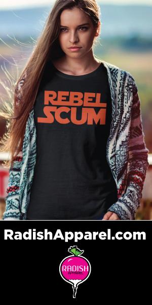 Funny, nerdy, pop culture shirts from Radish Apparel.