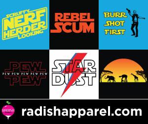 Star Wars Shirts from Radish Apparel