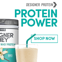 Shop Protein Powder by Designer Protein and Save
