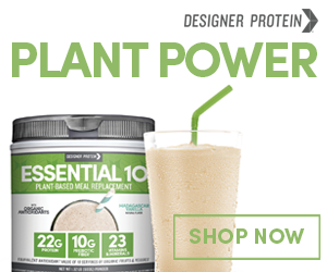Plant Based Protein Powders by Designer Protein