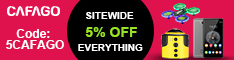 5% OFF Sitewide with Coupon:5CAFAGO