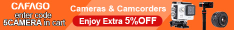 5% OFF for All Cameras & Camcorders with Code: 5CAMERA