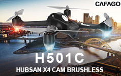 31% OFF Original Hubsan H501C X4 Drone Brushless GPS Altitude Hold Mode RC Quadcopter