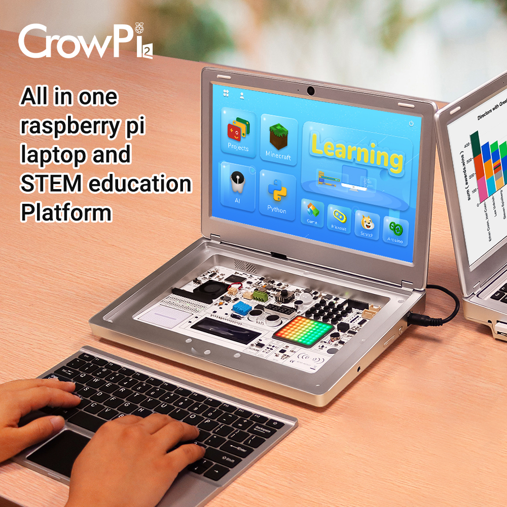 All in one Raspberry pi laptop and STEM Education platform