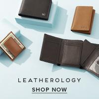 Shop men's leather wallets at Leatherology