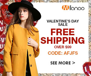 Valentine's Day Sale, Free Shiping over 99$ - Code: AFJFS