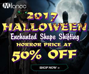 2017 Halloween 50%OFF