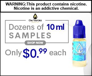Vape-Juice,Om Vapors, E-Liquid, E-Juice, Vaping