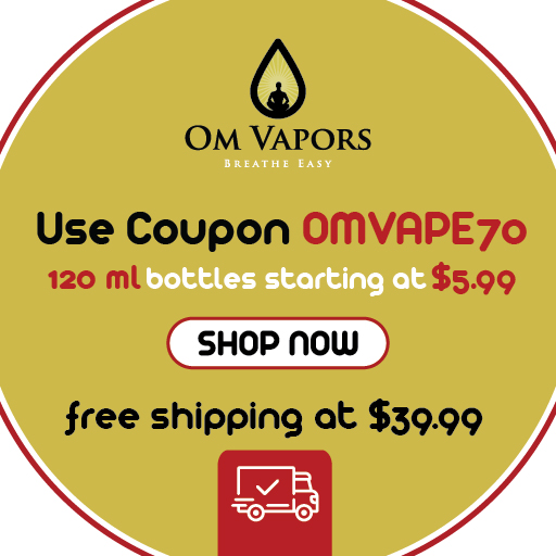 """Breathe Easy"" Affordable, Premium. Diketone-free, Whole Tobacco Alkaloid, E-liquid"