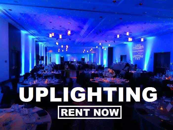 Rent Uplighting