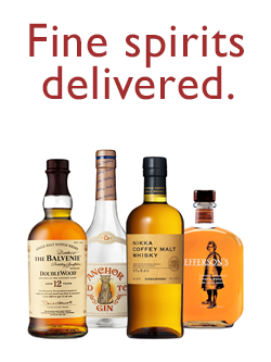 Fine spirits delivered.