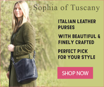 Italian Leather Purse For Women