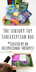 The subscription box designed for children with autism and those with sensory needs